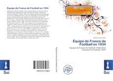 Couverture de Équipe de France de Football en 1934