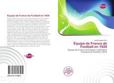 Bookcover of Équipe de France de Football en 1926