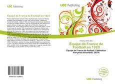 Bookcover of Équipe de France de Football en 1923