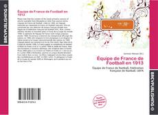 Bookcover of Équipe de France de Football en 1913