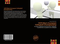 Bookcover of 1979 Men's European Volleyball Championship