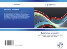 Borítókép a  Eucalyptus goniocalyx - hoz