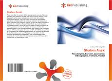Bookcover of Shalom Anski