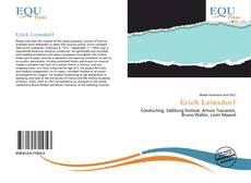 Bookcover of Erich Leinsdorf