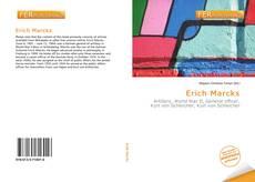 Buchcover von Erich Marcks