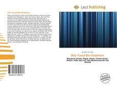 Abu Yusuf Bin Saamaan kitap kapağı