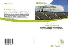 Capa do livro de Drame du Heysel
