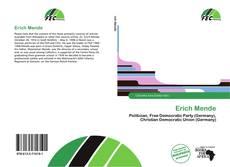 Buchcover von Erich Mende