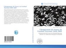 Copertina di Championnat de France de Football National 2008-2009
