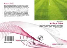Buchcover von Mathew Birley