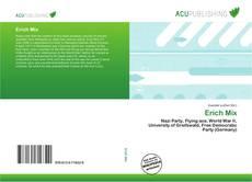 Buchcover von Erich Mix