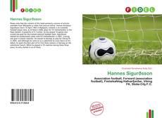 Buchcover von Hannes Sigurðsson