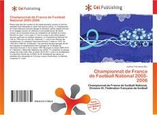 Capa do livro de Championnat de France de Football National 2005-2006