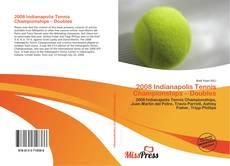 Capa do livro de 2008 Indianapolis Tennis Championships – Doubles