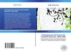 Bookcover of Championnat de France de Football National 1999-2000