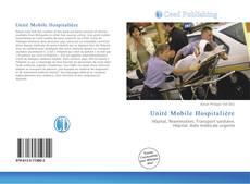 Unité Mobile Hospitalière kitap kapağı
