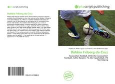 Capa do livro de Bobbie Friberg da Cruz