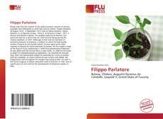 Bookcover of Filippo Parlatore