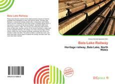 Bookcover of Bala Lake Railway