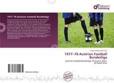 Copertina di 1977–78 Austrian Football Bundesliga