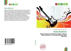 Bookcover of Kate Baldwin