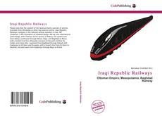Bookcover of Iraqi Republic Railways