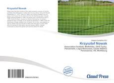 Krzysztof Nowak kitap kapağı