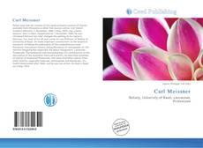Buchcover von Carl Meissner