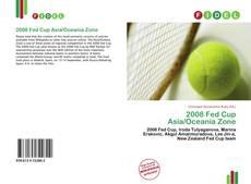 Copertina di 2008 Fed Cup Asia/Oceania Zone