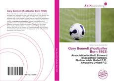 Обложка Gary Bennett (Footballer Born 1963)