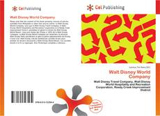 Bookcover of Walt Disney World Company