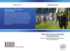 Copertina di 1958–59 Austrian Football Championship