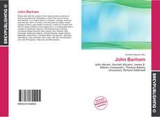 Обложка John Barham