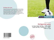 Enrique de Lucas kitap kapağı