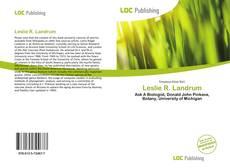Bookcover of Leslie R. Landrum