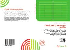 Bookcover of 2008 ATP Challenger Series