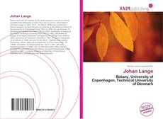 Bookcover of Johan Lange