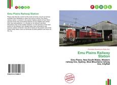 Bookcover of Emu Plains Railway Station