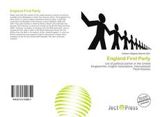 Bookcover of England First Party