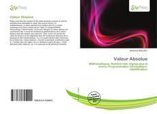 Capa do livro de Valeur Absolue