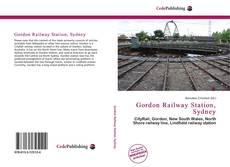 Buchcover von Gordon Railway Station, Sydney