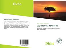 Обложка Daphnandra Johnsonii