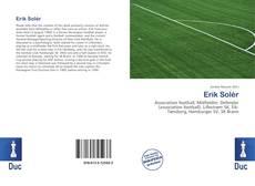 Buchcover von Erik Solér