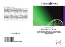 Buchcover von Topologie Faible