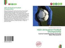 Copertina di 1923–24 Austrian Football Championship