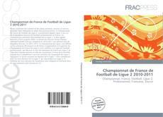 Bookcover of Championnat de France de Football de Ligue 2 2010-2011