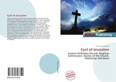 Buchcover von Cyril of Jerusalem
