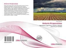 Bookcover of Antonio Krapovickas