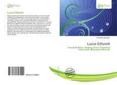 Portada del libro de Lucia Cifarelli