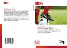 Bookcover of Aleksandar Ristić